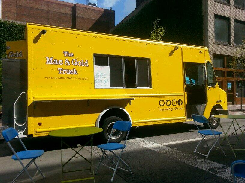 Mac & Gold Food Truck in Pittsburgh, PA